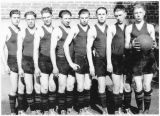 Boys basketball team, Pine City, Washington, circa 1926