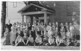 Pine City High School students, Pine City, Washington, 1931-1932