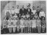 Pine City school students, Pine City, Washington, 1930-1931