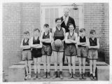 Pine City grade school basketball team, Pine City, Washington, 1928-1929