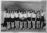 Pine City girls basketball team, Pine City, Washington, 1931-1932