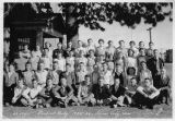 Pine City high school student body, Pine City, Washington, 1934-1935