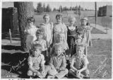 First and second grade school students, Pine City, Washington, 1934-1935
