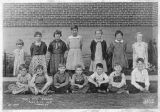 Third and fourth grade school students, Pine City, Washington, 1935-1936