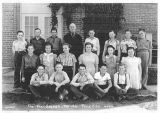 Seventh and eighth grade students, Pine City, Washington, 1940-1941