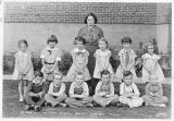 First and second grade school students, Pine City, Washington, 1936-1937