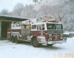 Fire Engine purchased from the East Coast to replace engines damaged in fire