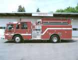 Engine purchased in 2006 for Colfax Fire Department