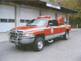 """Brush 1"" service truck for Colfax Fire Department"
