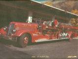 1938 Seagraves at the Colfax Fire Department