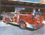 1966 American LaFrance at Colfax Fire Department