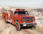 Colfax Fire Department fire engine