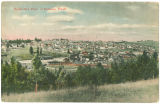 Birds eye view of Palouse, Washington, circa 1907