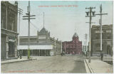 Alder Street, looking north, Pullman, Washington, circa 1908