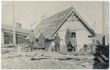 Goodyear house after flood, Colfax, Washington, 1908