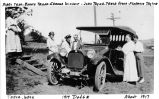1914 Dodge and members of Tyler/Taylor family, 1917