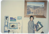 Whitman County Library art exhibit, Colfax, Washington, 1960-1965