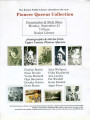 Poster for presentation of new collection in Roslyn Heritage, Roslyn, Washington, September 23,...