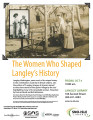 The women who shaped Langley's history, Langley, Washington, October 4, 2013