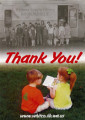 "Promotional ""thank you"" postcard for Whitman County Heritage, Whitman County,..."