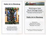Public art in Ellensburg booklet, Ellensburg, Washington, 2015