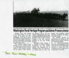 Washington Rural Heritage program publishes Prosser photos, Prosser, Washington, August 24, 2011