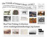 Flyer promoting the Reef Net Fishing Collection, Lummi Island, Washington, 2008