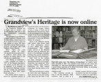 Grandview's heritage is now online, Grandview, Yakima County, January 28, 2009