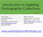 Introduction to Digitizing Photographic Collections, 2017-10
