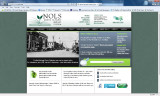 North Olympic Library System promoting North Olympic Heritage on homepage, Port Angeles,...