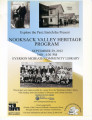 Explore the Past; Enrich the Present Nooksack Valley Heritage Program, Everson, Washington,...