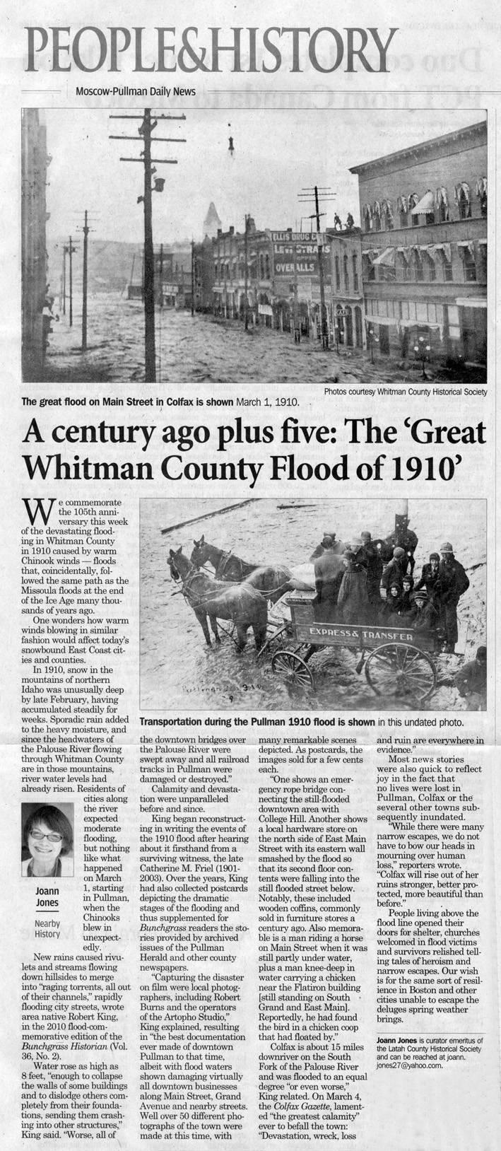 A century ago plus five: the